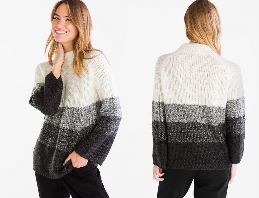 Jersey de lana en colores básicos