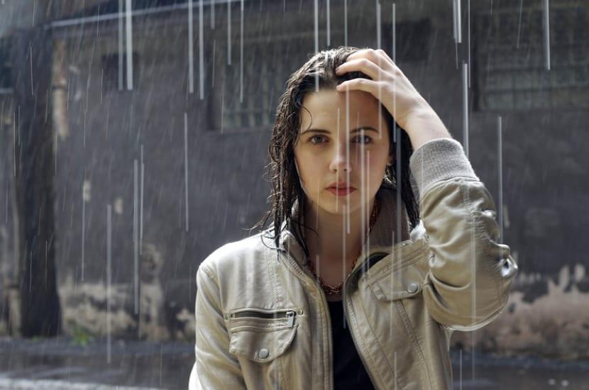Peinados para la lluvia