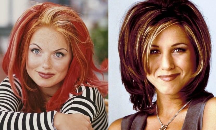 Peinados y maquillaje años 90
