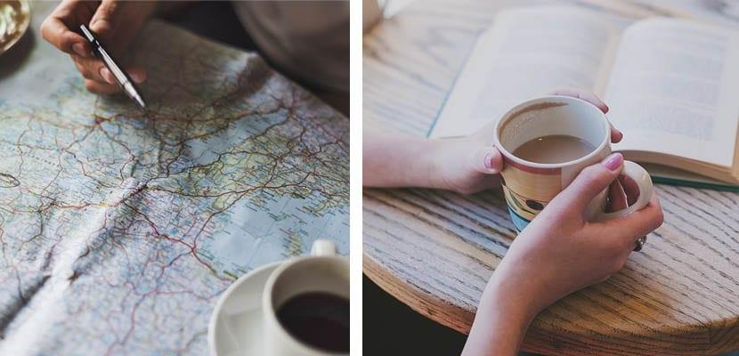 Plas en casa: leer y organizar un viaje