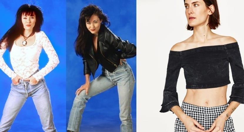 Blusas estilo años 90