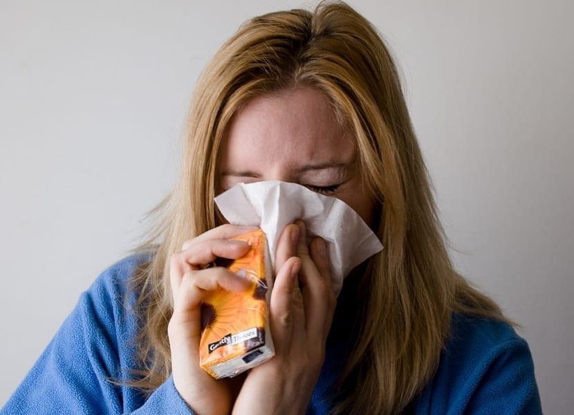 Síntomas del rhinovirus