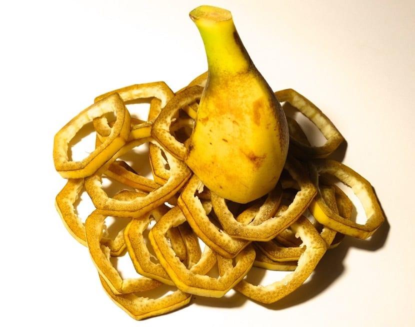 Cómo utilizar la cáscara de plátano