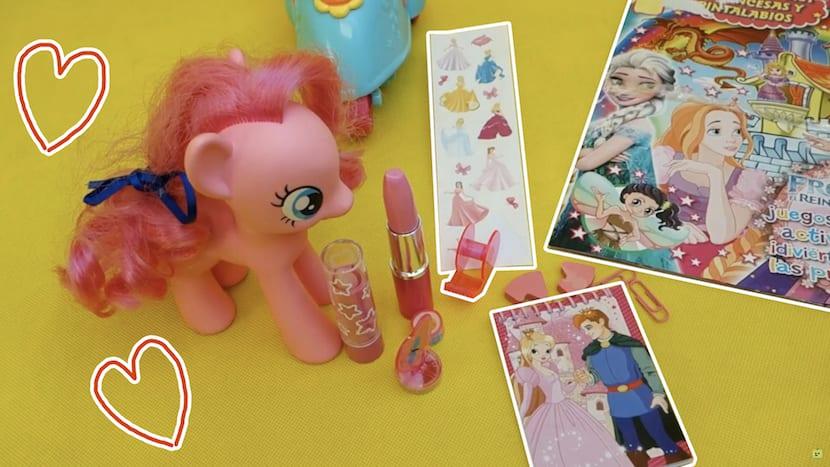 Vídeo de la pequeña pony y frozen