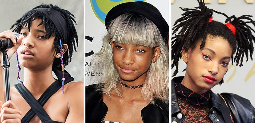 Willow Smith: complementos y accesorios de pelo