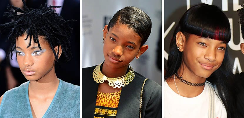 Peinados Willow Smith