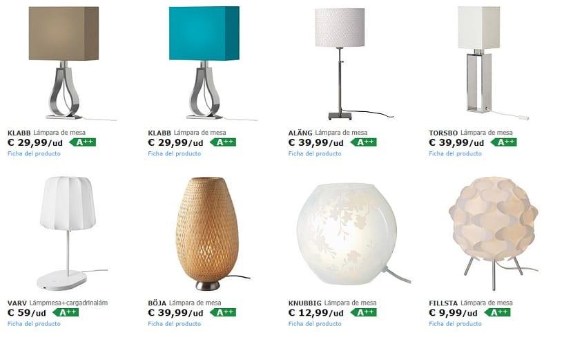 Ikea iluminacion lamparas de trabajo
