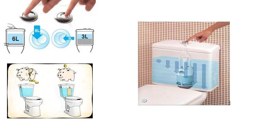 Ahorrar agua-cisterna