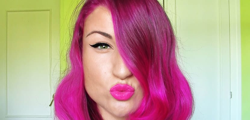 Tinte rosa