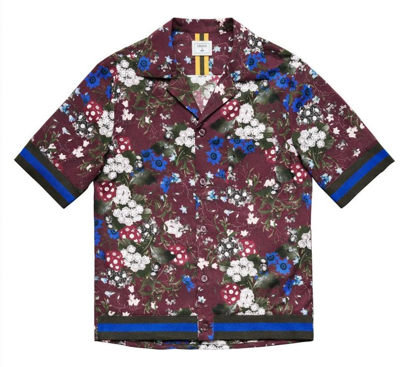 camisa de erdem para h&m