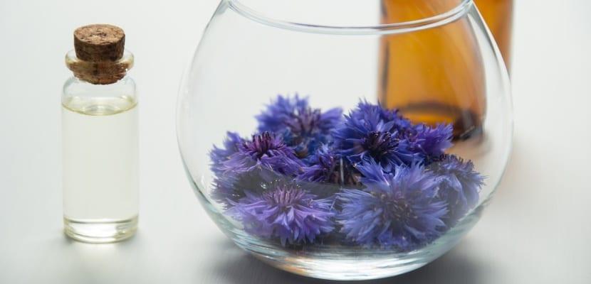 frasco de cristal con aroma