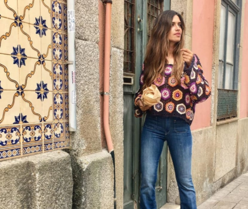 Jersey crochet de Sara Carbonero