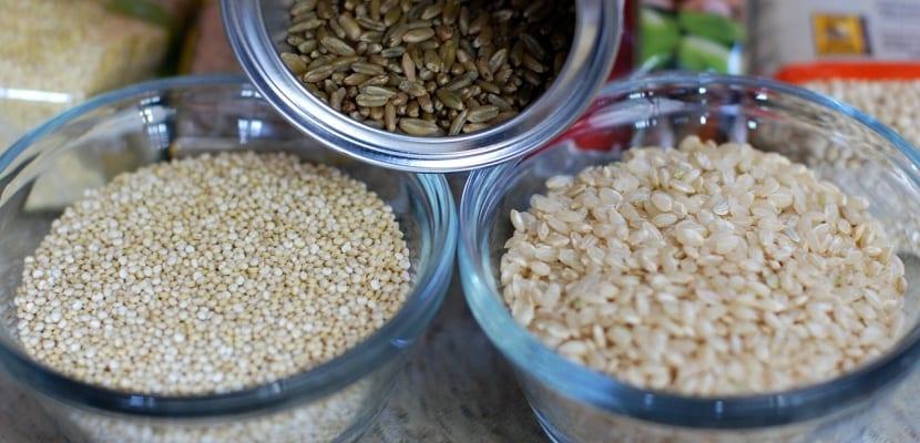 boles con quinoa arroz