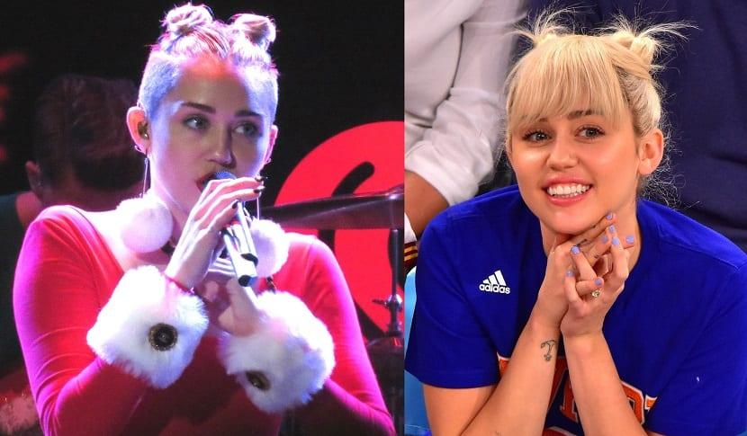 Peinados recogidos Miley Cyrus