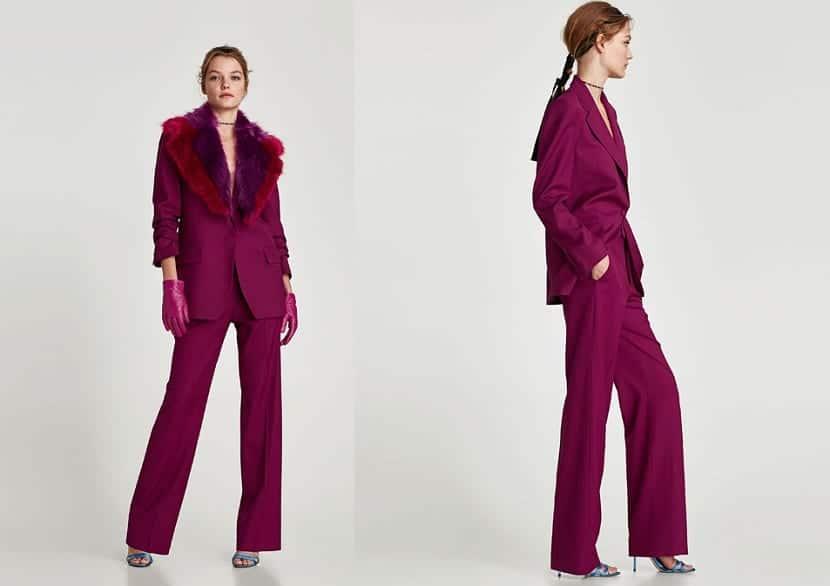 Trajes pantalón de Zara