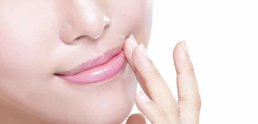 Vaselina en los labios