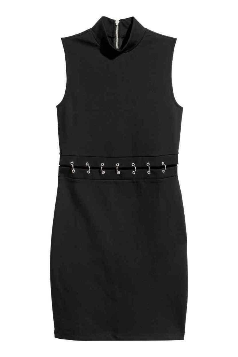 vestido negro para halloween