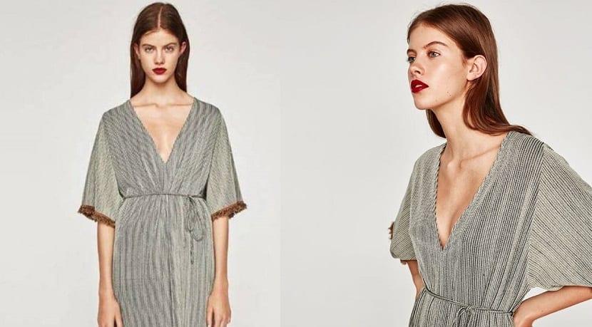 Vestido de Zara agotado por Sara Carbonero