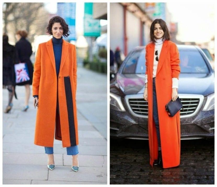 abrigos de color inspiracion street style