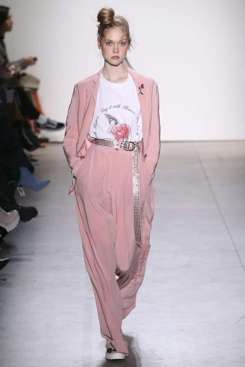 Adam Selman tendencia rosa
