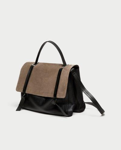 Bolso grande de Zara tendencia