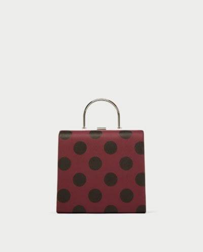 Bolso Vintage de Zara tendencia