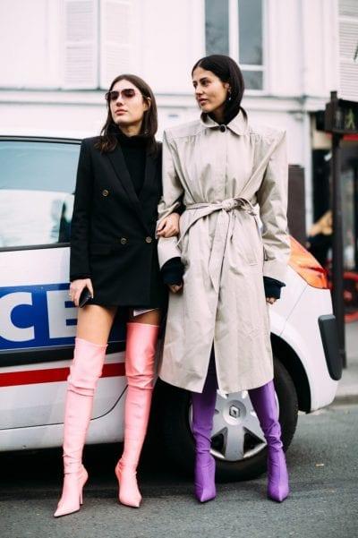 botas altas inspiración en el street style