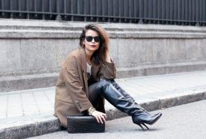 botas altas inspiración street styke