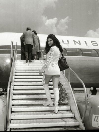 botas blancas de los 60 que se vuelven a llevar