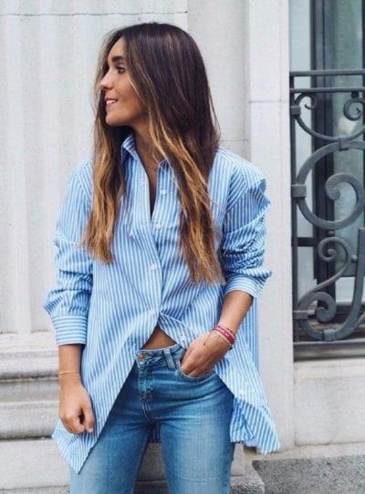 camisa laagam de la marca de Ines Arroyo influencer