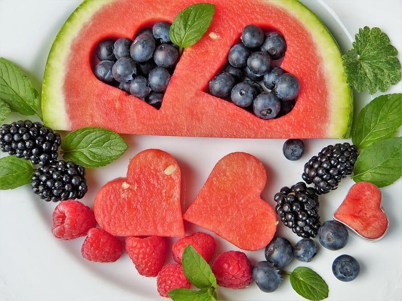 Dieta saludable para piel sana
