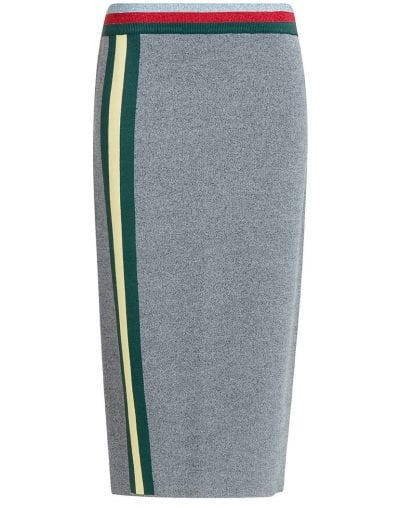 falda midi de bimba y lola