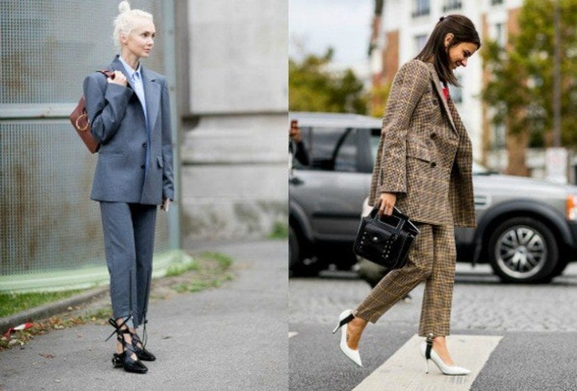 inspiración tendencia working girl