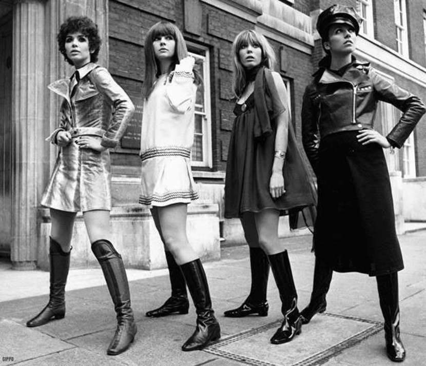 moda de los setenta que se vuelve a llevar
