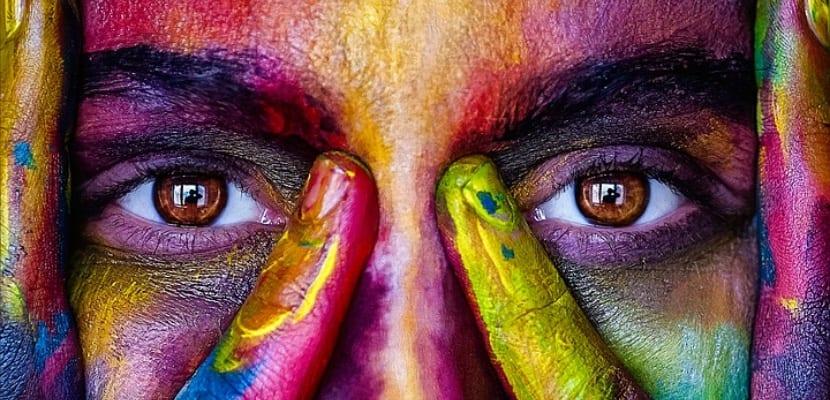 ojos de colores