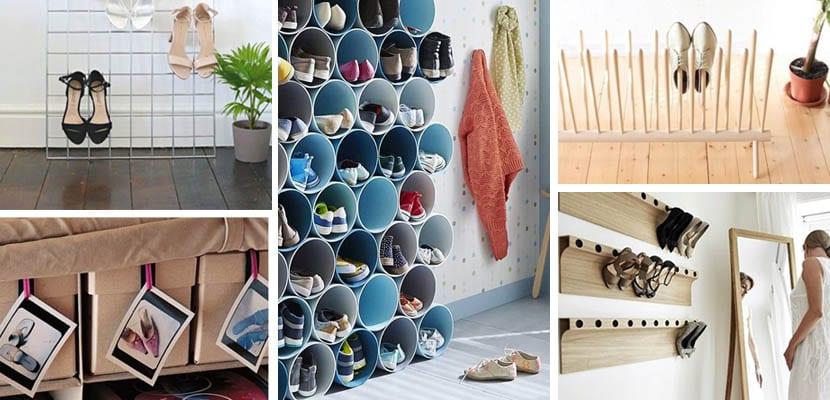 4 ideas para organizar los zapatos en casa for Ideas para hacer un zapatero