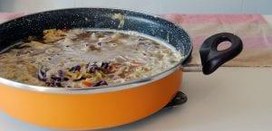 Sopa de repollo y zanahoria