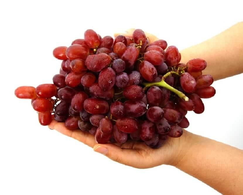 Uvas para el rostro