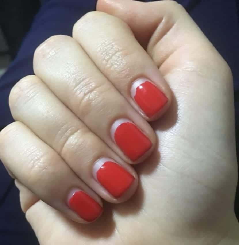 Corregir fallos de manicura