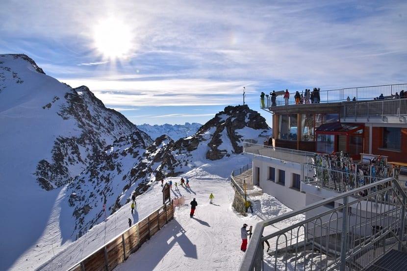Estaciones de esquí para niños