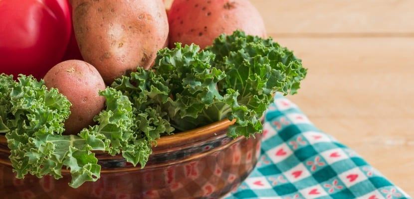 col rizada kale y patata
