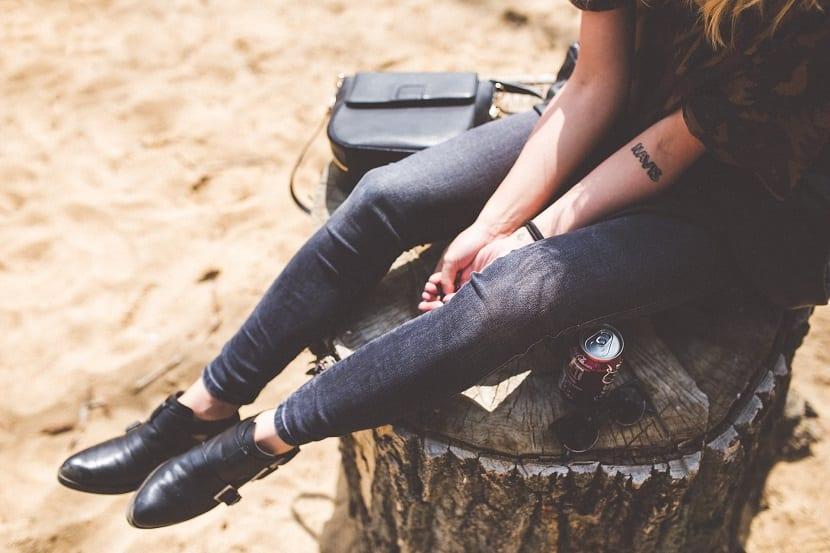 Tipos de pantalones vaqueros