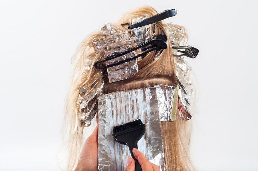 Reflejos para el cabello