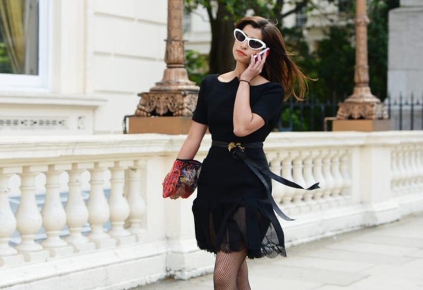 vestido mini begro básico