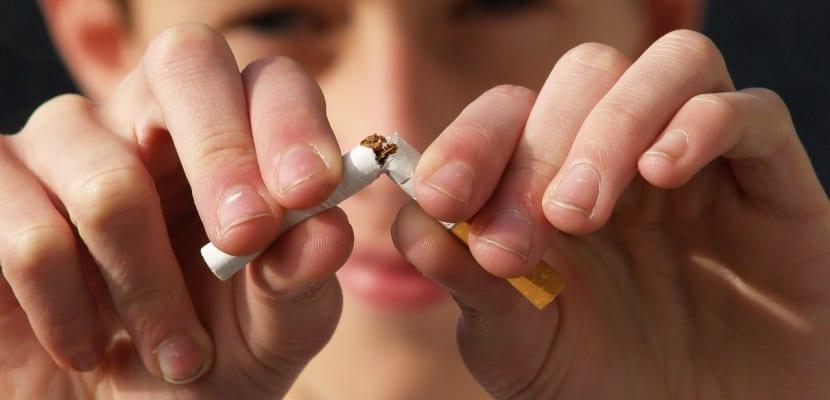 cigarrillo roto