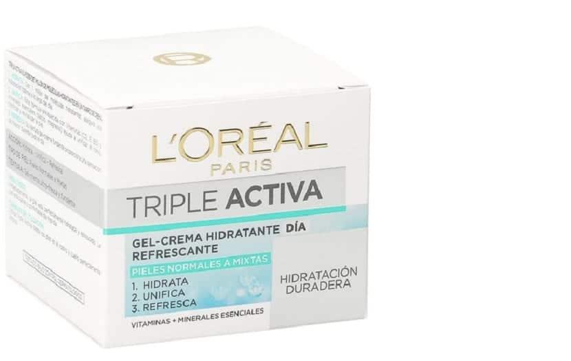 Crema hidratante para mejorar la piel