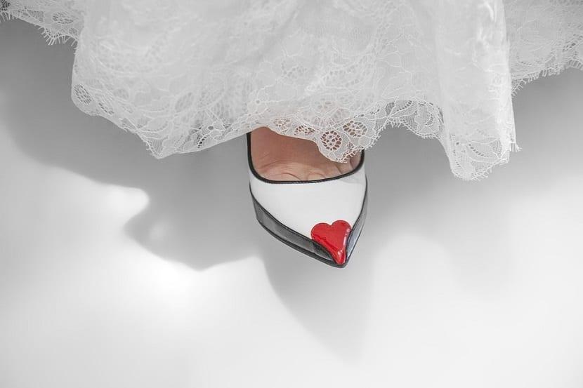 Elegir mis zapatos de novia