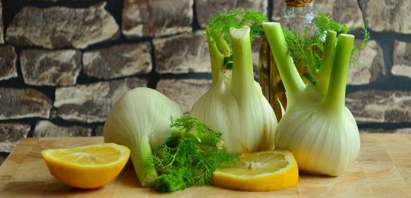 hinojo y limón