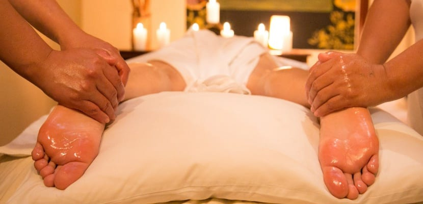 masaje en pies