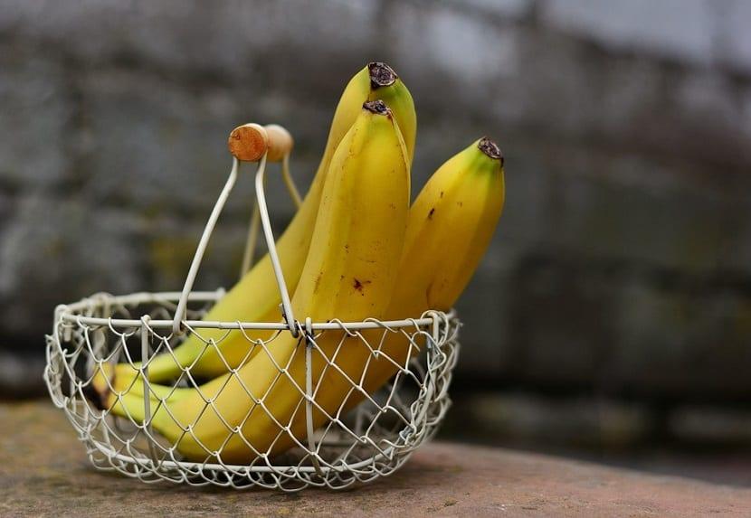 Mascarilla con plátano